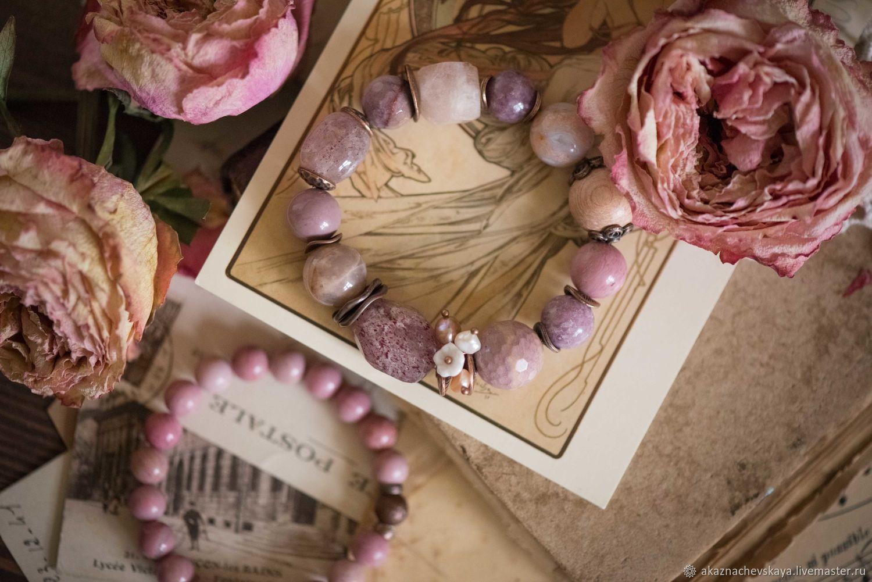 "Комплект браслетов ""Суфле из роз"", Комплект браслетов, Зеленоград,  Фото №1"