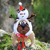 Stuffed Toys handmade. Livemaster - original item Ready for winter!. Handmade.