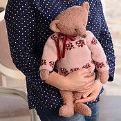 Куклы и игрушки ручной работы. Ярмарка Мастеров - ручная работа Большая мишка Алиса, 48 см.. Handmade.