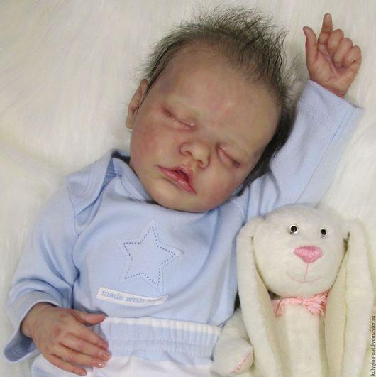 Куклы-младенцы и reborn ручной работы. Ярмарка Мастеров - ручная работа. Купить Кукла реборн  Твин В. Handmade. Бежевый