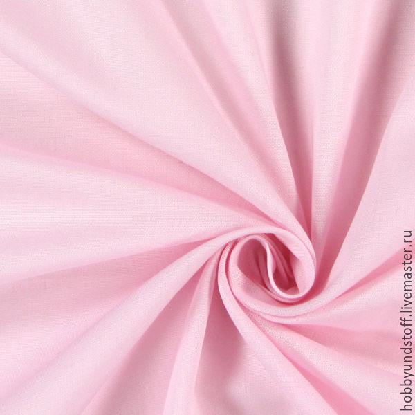 Немецкий хлопок нежно-розовый, Ткани, Москва,  Фото №1