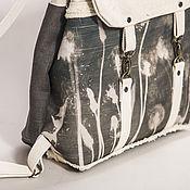 Сумки и аксессуары ручной работы. Ярмарка Мастеров - ручная работа рюкзак с фотограммой ОДУВАНЧИКИ. Handmade.