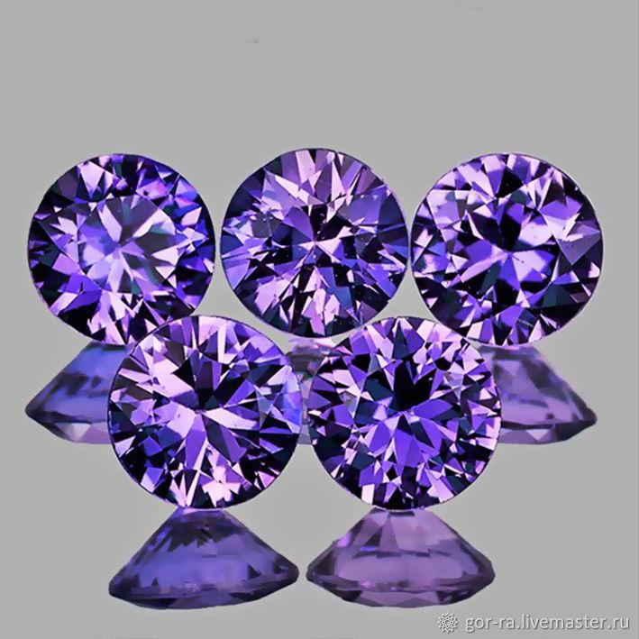 Sapphire 3,2 mm., VVS1, natural, Minerals, Yoshkar-Ola,  Фото №1