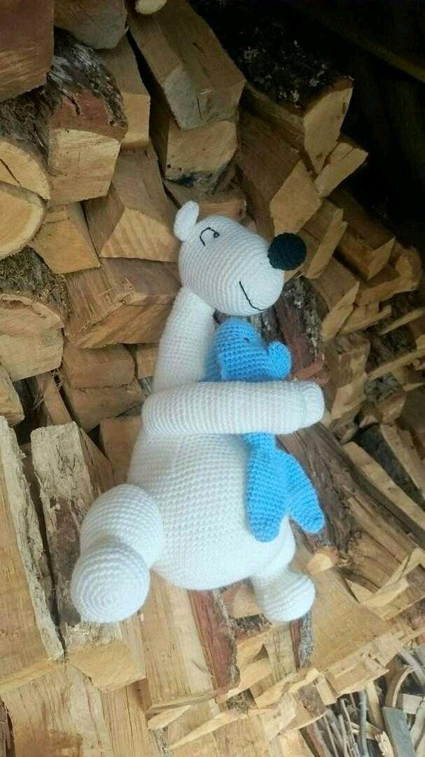 Мишка, вязаная игрушка, Мягкие игрушки, Краснодар,  Фото №1