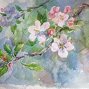 Картины и панно ручной работы. Ярмарка Мастеров - ручная работа Весенние цветы. Handmade.