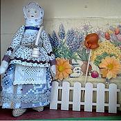 Куклы и игрушки ручной работы. Ярмарка Мастеров - ручная работа Народная кукла Дуняша - оберег на благосостояние. Handmade.