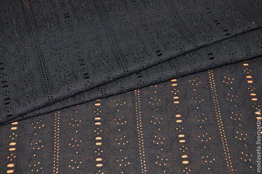 """Шитье ручной работы. Ярмарка Мастеров - ручная работа. Купить Хлопок вышивка-ришелье """"Etro"""", Италия. Handmade. Ткани для шитья"""