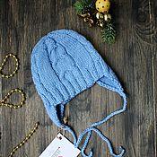 Работы для детей, ручной работы. Ярмарка Мастеров - ручная работа Шапочка - чепчик для новорожденного. Handmade.