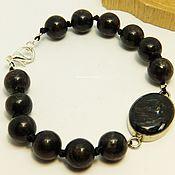 Украшения handmade. Livemaster - original item Bracelet of nuumite Northern lights. Handmade.