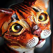 Для дома и интерьера handmade. Livemaster - original item Bengal cat Murchello. Handmade.