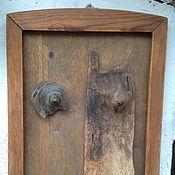 Панно ручной работы. Ярмарка Мастеров - ручная работа Панно из дерева FACE. Handmade.