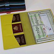Сумки и аксессуары handmade. Livemaster - original item A4 document organizer yellow. Handmade.