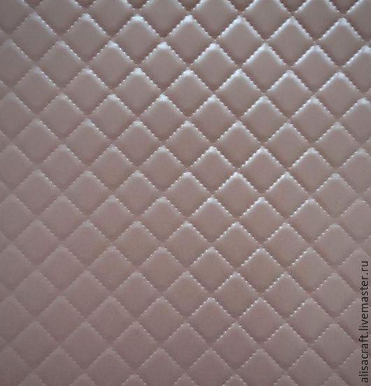 Светло-розовая перламутровая бумага. Односторонняя. Цена за формат А4 = 20 руб. На фото - пример качества тиснения.