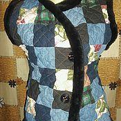 Одежда ручной работы. Ярмарка Мастеров - ручная работа лоскутный стеганный жилет. Handmade.