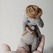 Куклы и игрушки ручной работы. Ярмарка Мастеров - ручная работа Elliot. Слоненок Эллиот. Коллекционная игрушка тедди.. Handmade.