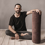 Активный отдых и развлечения handmade. Livemaster - original item Roll with buckwheat husk. Handmade.