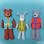 Куклы и игрушки ручной работы. Ярмарка Мастеров - ручная работа Вязаные животные. Handmade.