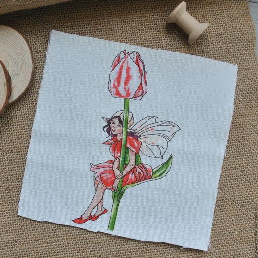Купон на льне Фея тюльпана, 3137