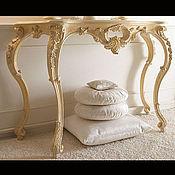 Столы ручной работы. Ярмарка Мастеров - ручная работа Стол из бука (№046). Handmade.