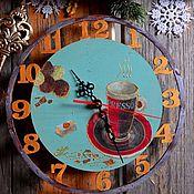 """Для дома и интерьера ручной работы. Ярмарка Мастеров - ручная работа Часы из дерева """" Тиффани"""". Handmade."""
