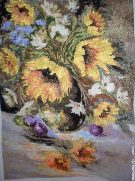 Картины цветов ручной работы. Ярмарка Мастеров - ручная работа. Купить Картина  Желтые цветы. Handmade. Желтые цветы