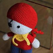 Куклы и игрушки handmade. Livemaster - original item Jolly pirate. Handmade.
