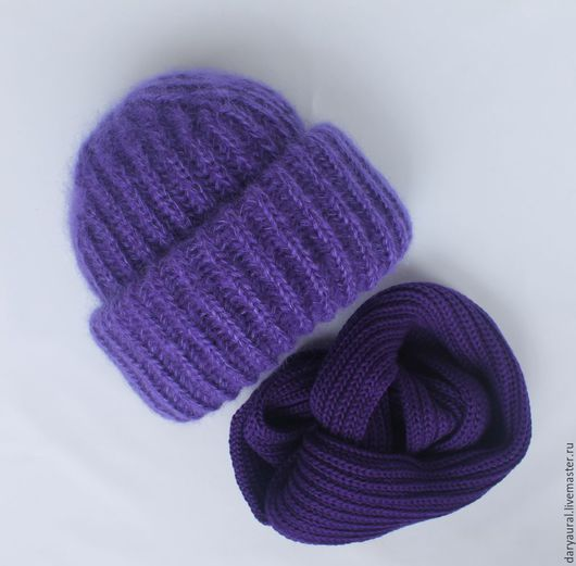 Два оттенка фиолетового превосходно дополняют друг друга
