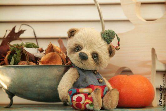 Мишки Тедди ручной работы. Ярмарка Мастеров - ручная работа. Купить Беппе. Beppe. OOAK.. Handmade. Бежевый, teddybear