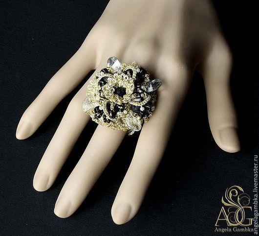 """Кольца ручной работы. Ярмарка Мастеров - ручная работа. Купить Перстень, кольцо """"Золото инков"""". Handmade. Золотой, кольцо большое"""