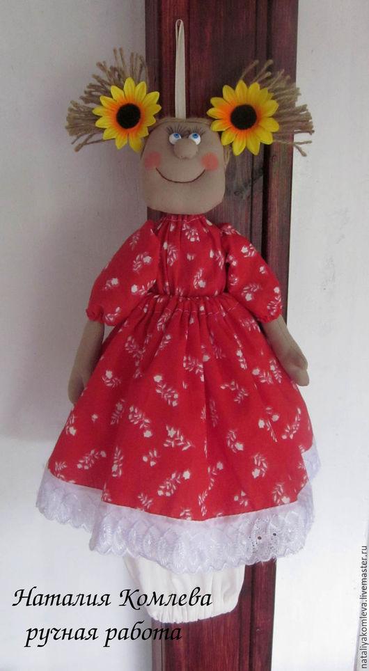 Кухня ручной работы. Ярмарка Мастеров - ручная работа. Купить Кукла-пакетница. Handmade. Кукла-пакетница, для кухни