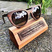 Аксессуары ручной работы. Ярмарка Мастеров - ручная работа Деревянные солнцезащитные очки модель IREN. Handmade.