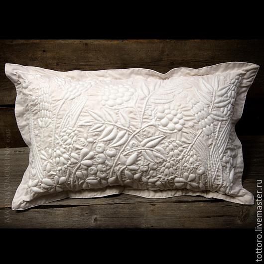 Текстиль, ковры ручной работы. Ярмарка Мастеров - ручная работа. Купить Упаду я в травы луговые.... Handmade. Белый, бути