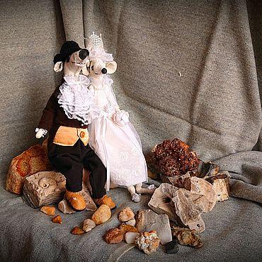 Свадебный салон ручной работы. Ярмарка Мастеров - ручная работа Свадебная парочка крыс ручной работы. Handmade.