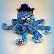 Куклы и игрушки ручной работы. Ярмарка Мастеров - ручная работа Осьминог мальчик. Handmade.