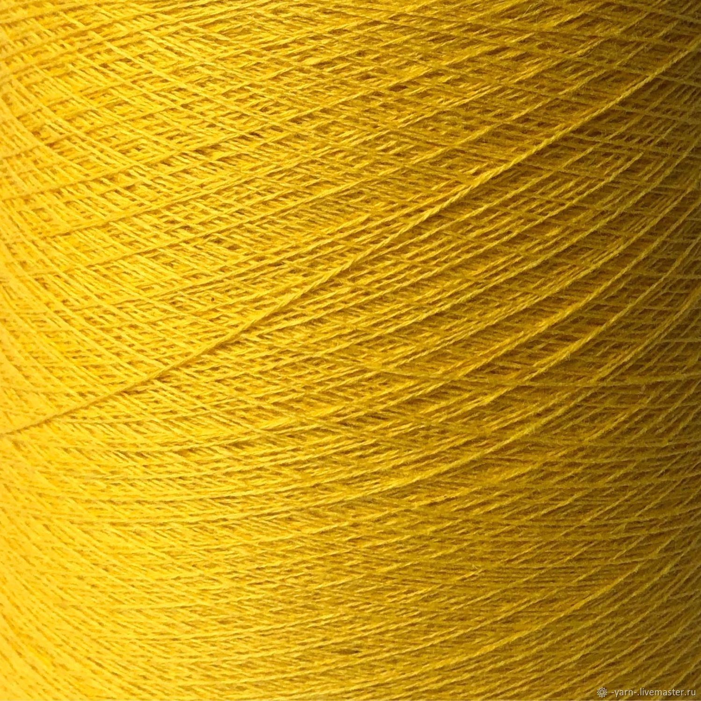 Пряжа Кашемир 2/28 желтый – купить на Ярмарке Мастеров – MPCBKRU | Пряжа, Санкт-Петербург