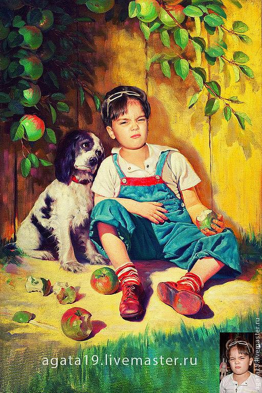 Фотокартины ручной работы. Ярмарка Мастеров - ручная работа. Купить Фотоколлаж детский. Handmade. Фото