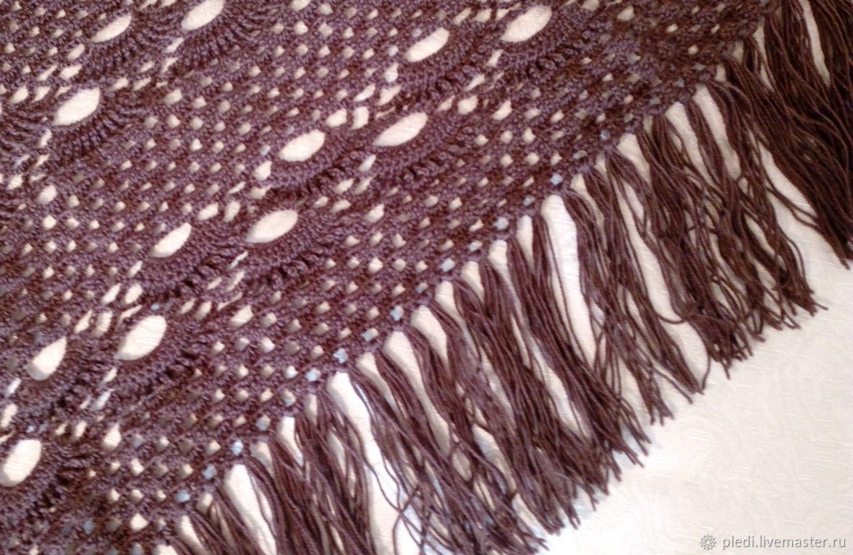 Chocolate shawl, Shawls, Moscow,  Фото №1