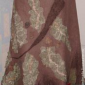 Одежда ручной работы. Ярмарка Мастеров - ручная работа Юбка из шерсти Ветвь. Handmade.