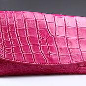 Сумки и аксессуары handmade. Livemaster - original item Wallet female crocodile IMA0004M4. Handmade.