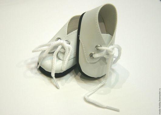 Куклы и игрушки ручной работы. Ярмарка Мастеров - ручная работа. Купить Ботиночки для куклы белые. Handmade. Белый, ботинки для игрушки