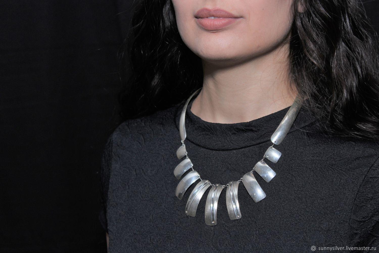 Minima Series Arc necklace in ASH0016 combination silver, Necklace, Yerevan,  Фото №1