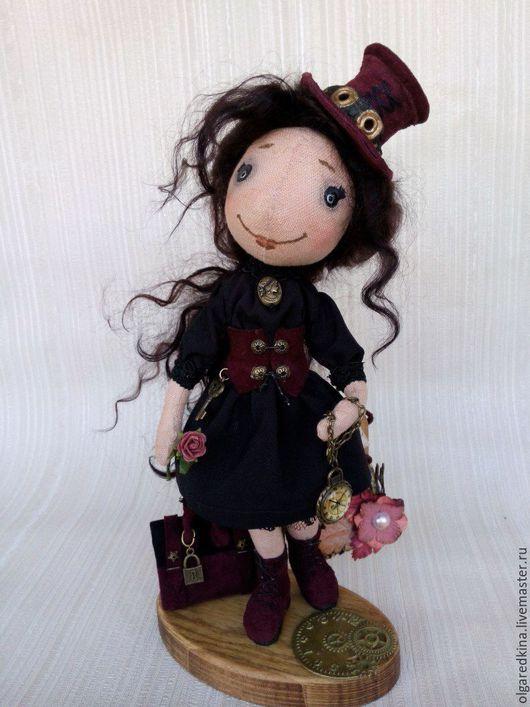 Сказочные персонажи ручной работы. Ярмарка Мастеров - ручная работа. Купить Кукла в стиле стимпанк. Handmade. Стимпанк, кукла в подарок