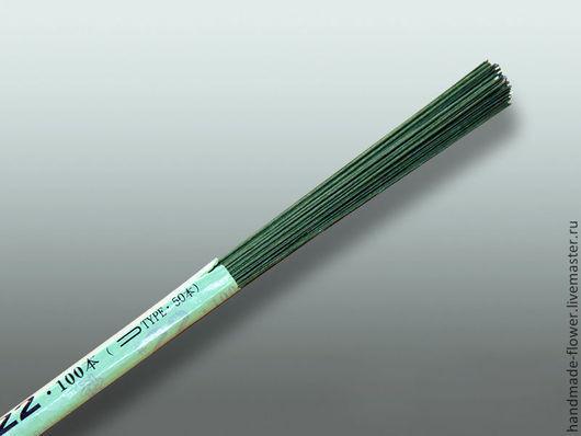 № 22,36 см. 100 шт. Цвет зеленый