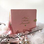 Фотоальбомы ручной работы. Ярмарка Мастеров - ручная работа Альбом для девочки. Handmade.