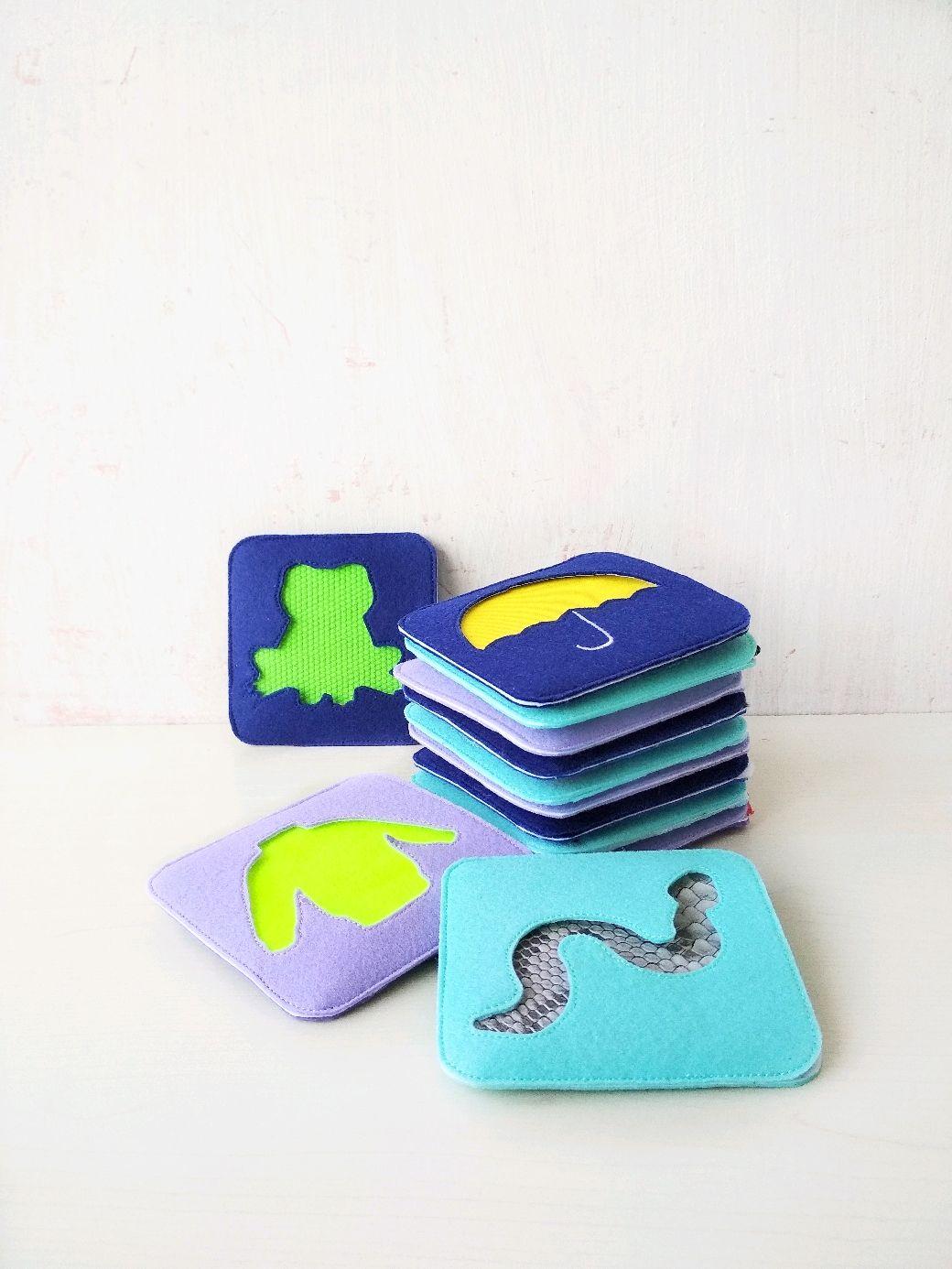 Tactile cards massage paths, Stuffed Toys, Tyumen,  Фото №1