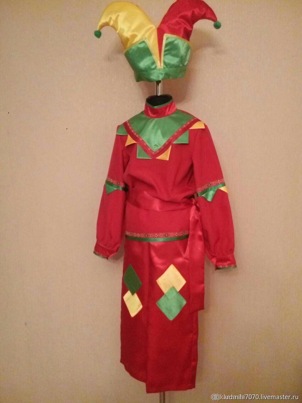 костюмы скоморохов фото