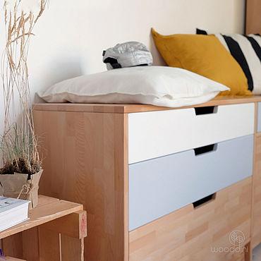 Мебель ручной работы. Ярмарка Мастеров - ручная работа Комод «Валинор» с ящиками. Handmade.