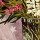 """Картины цветов ручной работы. Заказать Картина маслом """"Букет с люпинами в хрустале"""". Анатолий Трушин (galerra). Ярмарка Мастеров."""