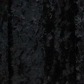 Материалы для творчества ручной работы. Ярмарка Мастеров - ручная работа Плюш винтажный длинноворсовый Черный фабричный. Handmade.