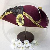 Субкультуры handmade. Livemaster - original item Tricorn (bordou). Handmade.